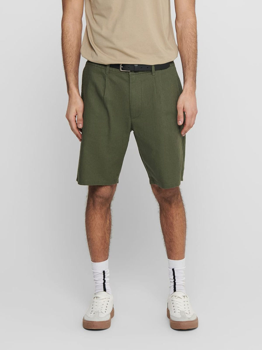 Shorts Herren Khaki