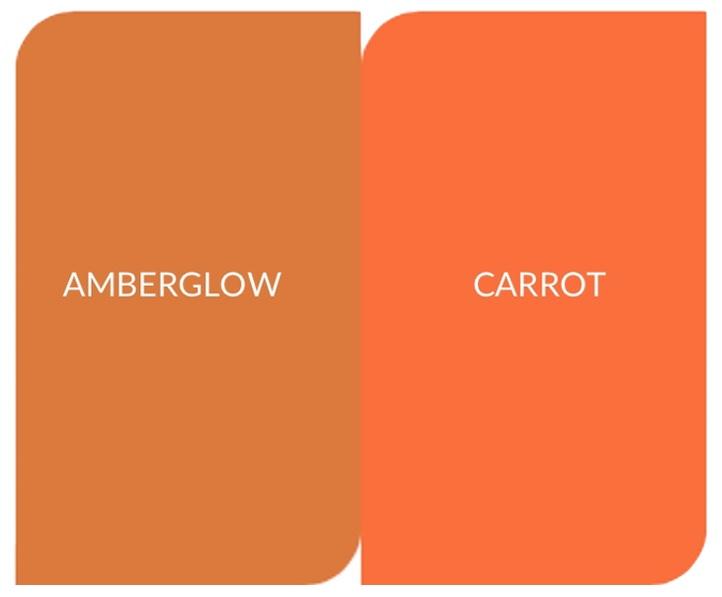 Orange darf in dieser Herbst/Winter Saison
